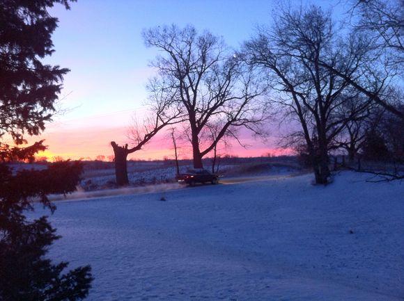 Pretty sunrise